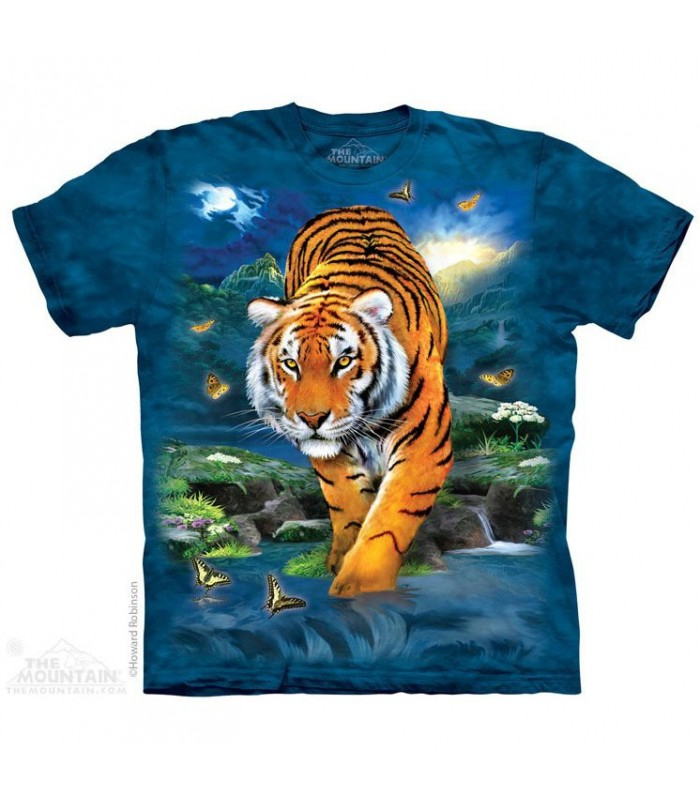 3D Tiger Animal T Shirt The Mountain