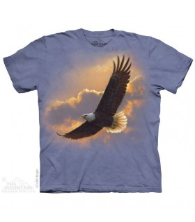 Soaring Spirit Eagle T Shirt The Mountain