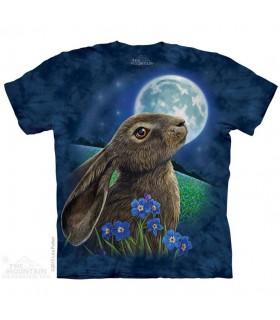 Moon Gazer Animal T Shirt The Mountain
