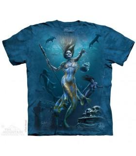 Mermaid Hunt Fantasy T Shirt The Mountain