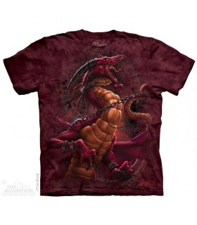 Unchained Dragon - Fantasy T Shirt The Mountain