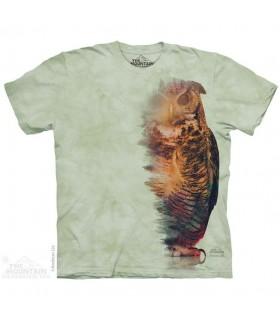 T-shirt Hibou Boisé The Mountain