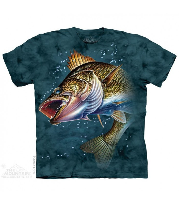 Walleye T Shirt The Mountain
