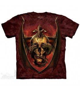 Dissent Skull T Shirt The Mountain