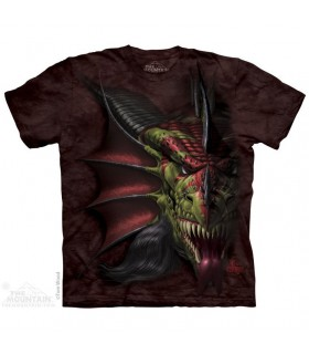 Lair of Shadows Dragon T Shirt The Mountain