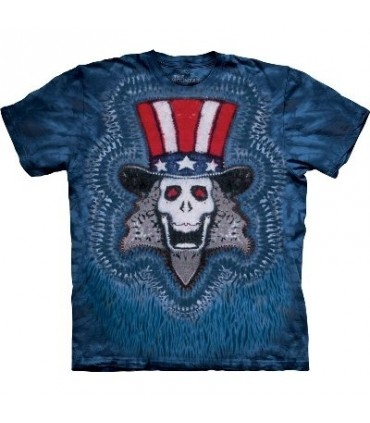 Uncle Sam - Patriotic T Shirt by the Mountain