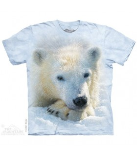 Polar Bear Cub T Shirt The Mountain