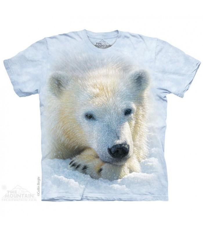 Polar Bear Cub T Shirt The Mountain