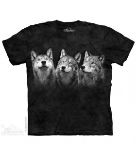 T-shirt 3 Loups The Mountain