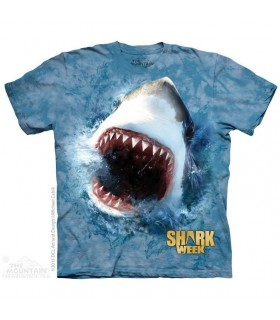 Nourrir un Requin - T-shirt aquatique The Mountain