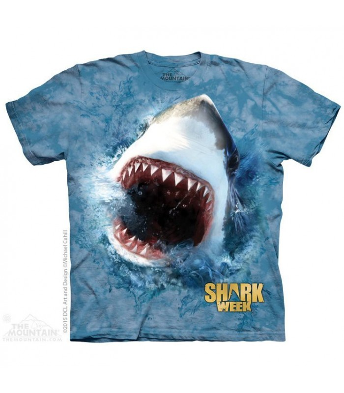 Nourrir un Requin - T-shirt aquatique The Mountain