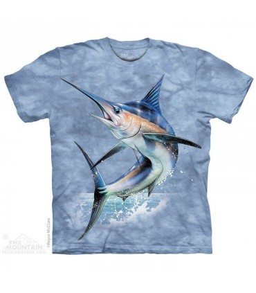T-shirt Poisson Volant The Mountain