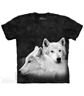 Fratrie - T-shirt Loups The Mountain