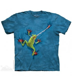 Langue de Grenouille - T-shirt Amphibien The Mountain