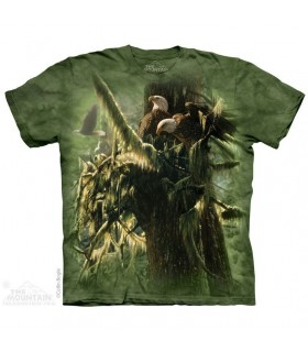 Enchanted Forest Eagles T Shirt The Mountain