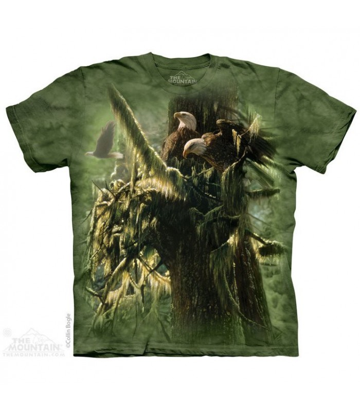 Forêt Enchantée - T-shirt Aigles The Mountain