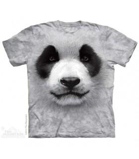 T-Shirt Panda par The Mountain
