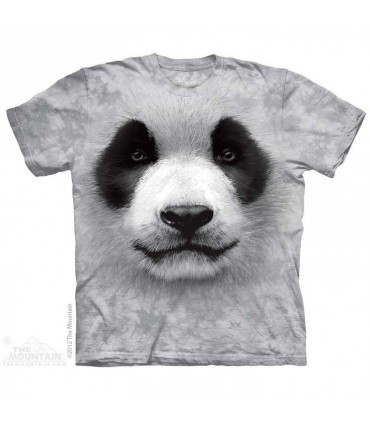 Big face Panda - Animal T Shirt Mountain