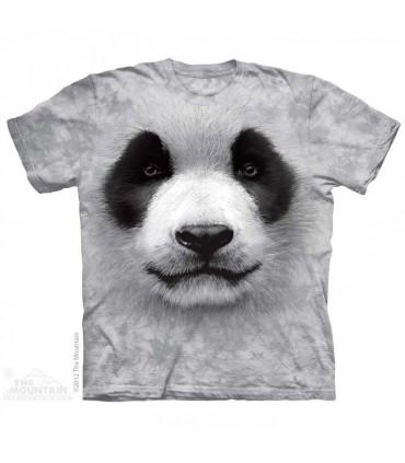 Big face Panda - Animal T Shirt Mountain