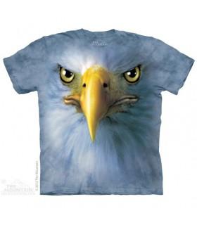 T-Shirt tête d'Aigle par The Mountain