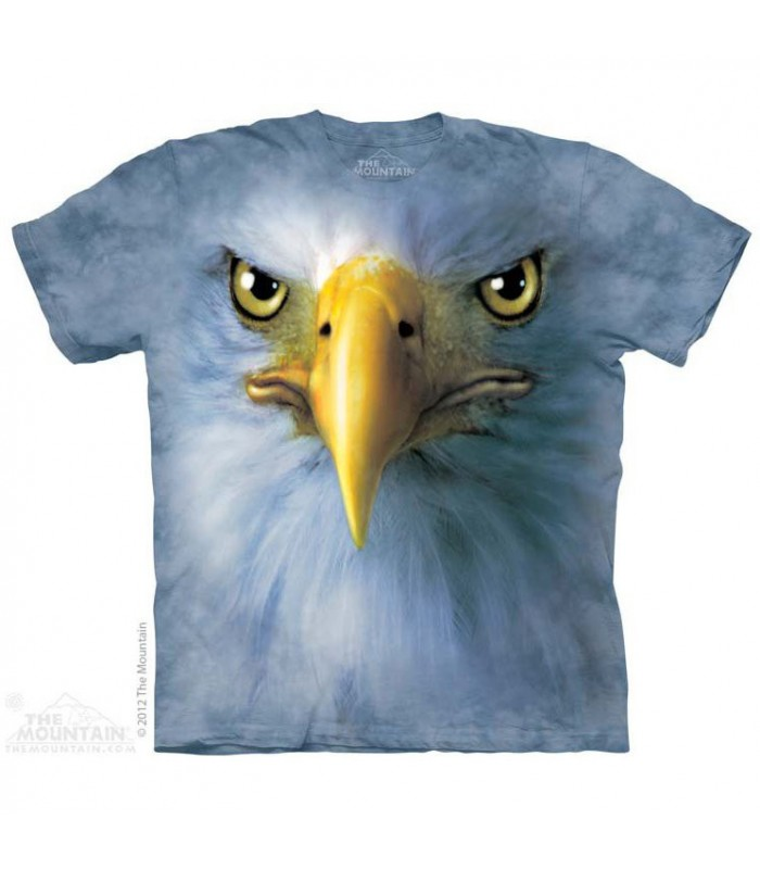 Eagle Face - Birds T Shirt by the Mountain
