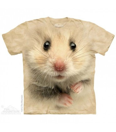 Hamster Face - Pet T Shirt by the Mountain
