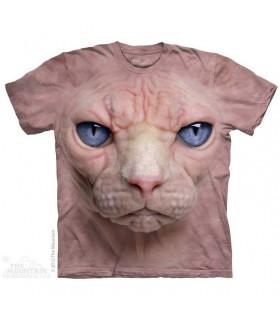 T-Shirt Chat sans poil par The Mountain