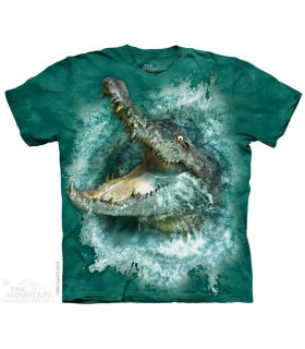 Crocodile Splash T Shirt The Mountain