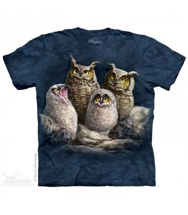 T-shirt Famille Hibou The Mountain