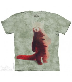 Red Panda Forest T Shirt The Mountain
