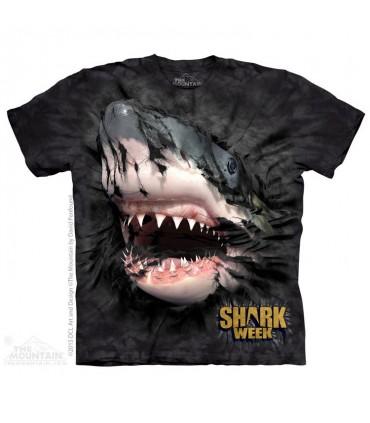 T-shirt Requin Menaçant The Mountain