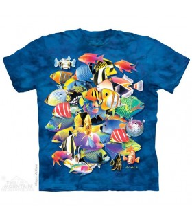 T-shirt Poissons Tropicaux The Mountain