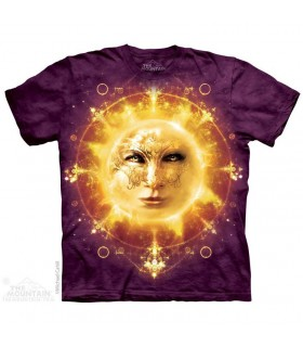 T-shirt Visage du Soleil par The Mountain