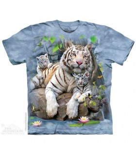 T-shirt Tigre Blanc du Bengal The Mountain