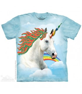 T-shirt Licorne Arc-en-Ciel The Mountain