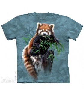 Bamboo Red Panda T Shirt The Mountain