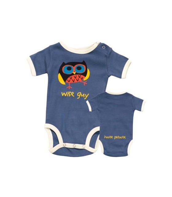 LazyOne Boys Lazy Bones Babygrow Vest