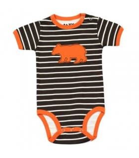 LazyOne Boys Bear Stripe