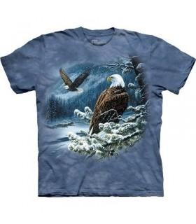 Spirit of the Wind - Bird T Shirt Mountain