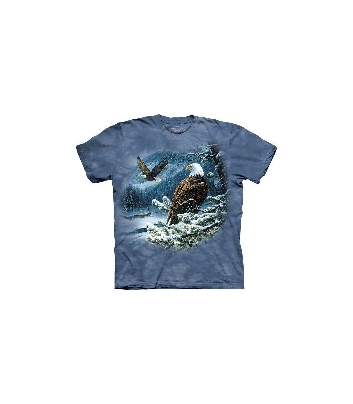 Spirit of the Wind - Bird T Shirt Mountain