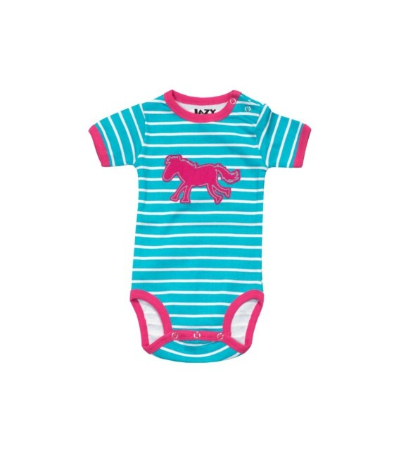 LazyOne Girls I Otter Be in Bed Babygrow Vest
