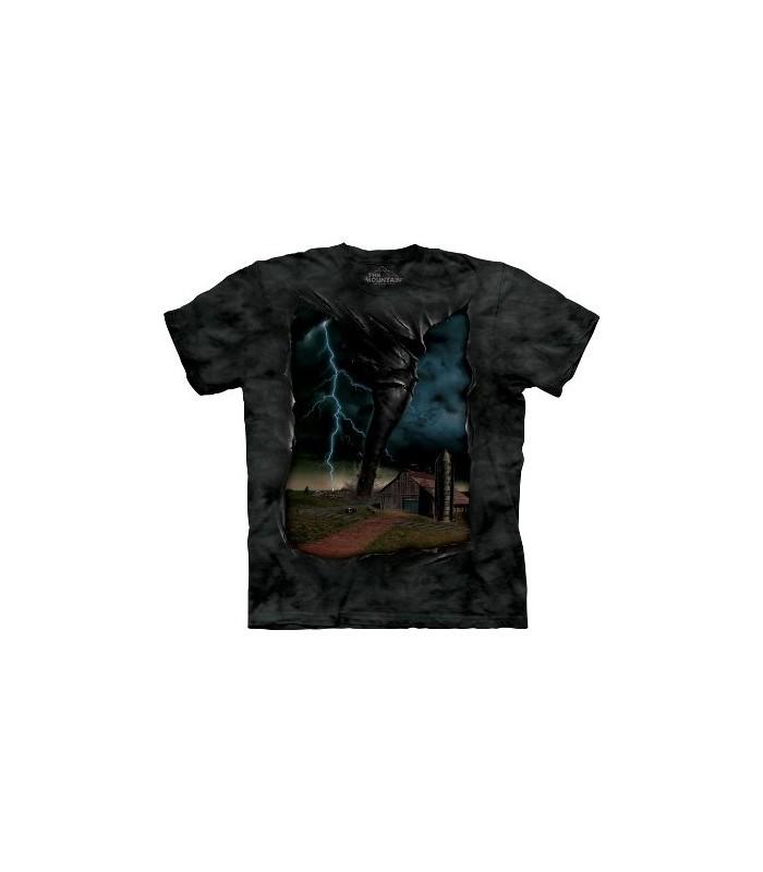 T-Shirt Tornade par The Mountain