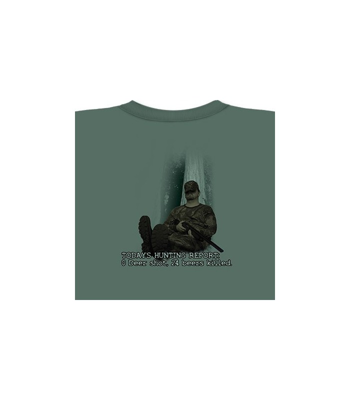 0 Deer 24 Beers - Mountain Life Shirt