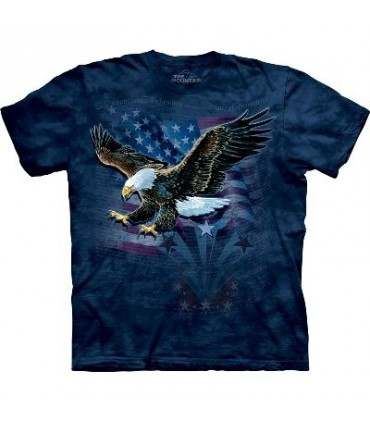 Declaration - Eagles T Shirt by the Mountain