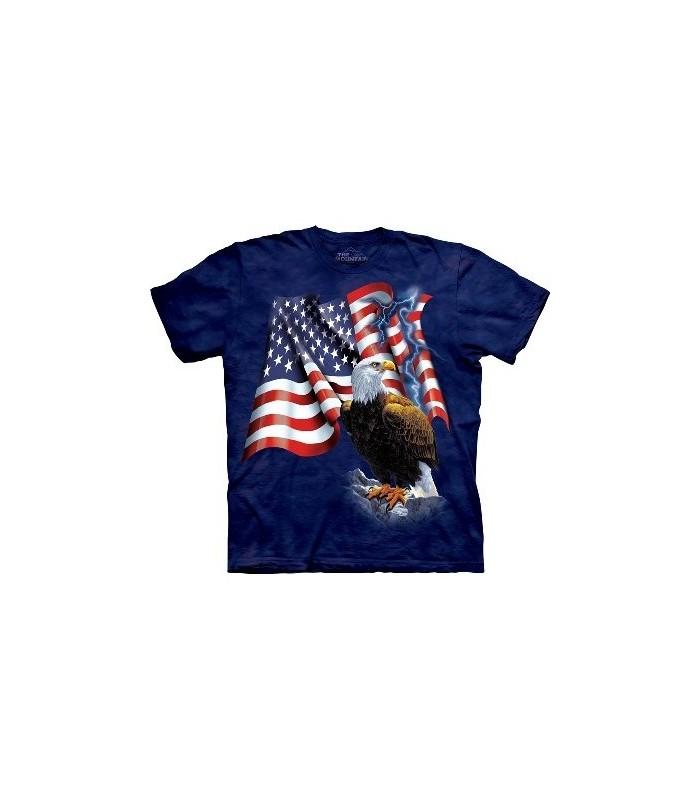 Eagle Flag - USA Shirt The Mountain