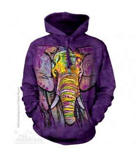Adult Unisex Russo Elephant Hoodie The Mountain