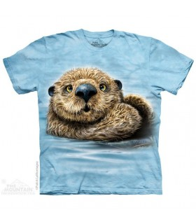 T-shirt Loutre Totem The Mountain