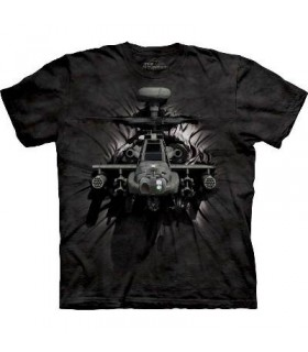 Apache Breakthrough - Military T Shirt by the Mountain