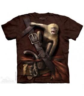 T-shirt Pirate et Singe Hurleur The Mountain