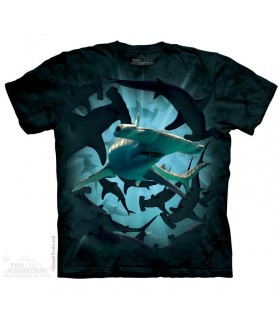 Hammerhead Swirl Shark T Shirt The Mountain